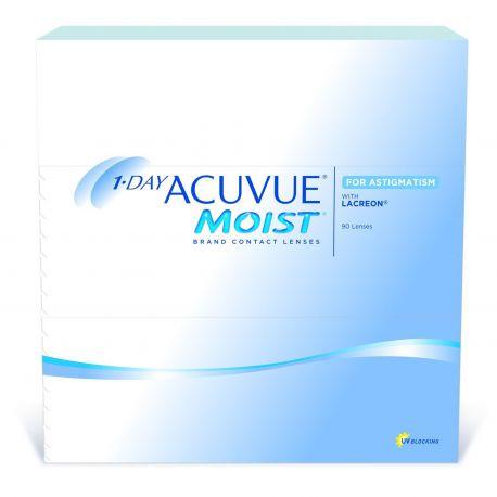 1-Day ACUVUE Moist For Astigmatism 90 lentilles de Johnson   Johnson ... 716ddf53ae22