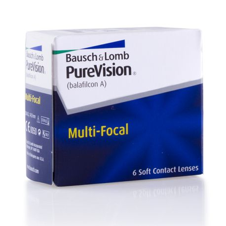 PureVision multi-focal 6 lentilles de Bausch   Lomb - LPO Clair Optic cc48e05d4c57