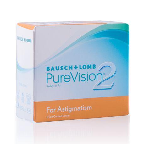 PureVision 2 HD For Astigmatism 6 lentilles de Bausch   Lomb - LPO ... f0eb88752553