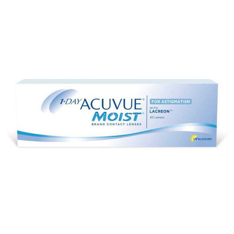 1-Day ACUVUE Moist For Astigmatism 30 lentilles de Johnson   Johnson ... 79ce4ee3b11e